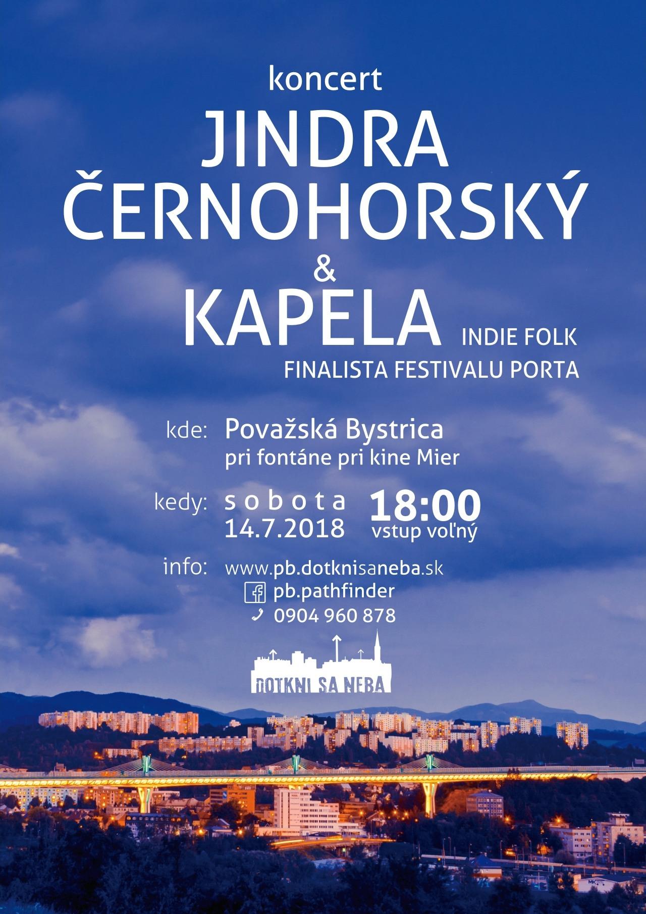 bb69389872 Pozývame vás na ďalší hudobný večer chvál – Jinda Černoorský