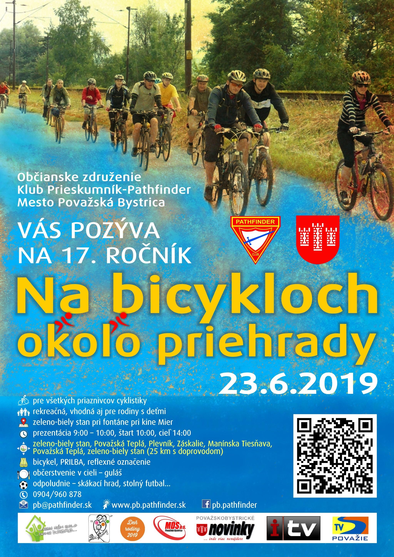 cc119ac8bb192 Aj tento rok Mesto Považská Bystrica a Občianské združenie Pathfinder,  oddiel Veverice Považská Bystrica srdečne pozýva všetkých vlastníkov  bicyklov na 17. ...